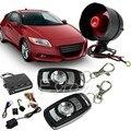 1 комплект  1-Way Автомобильная защита  сигнализация  система охранного предупреждения  вход без ключа  Сирена + 2 пульта дистанционного управл...