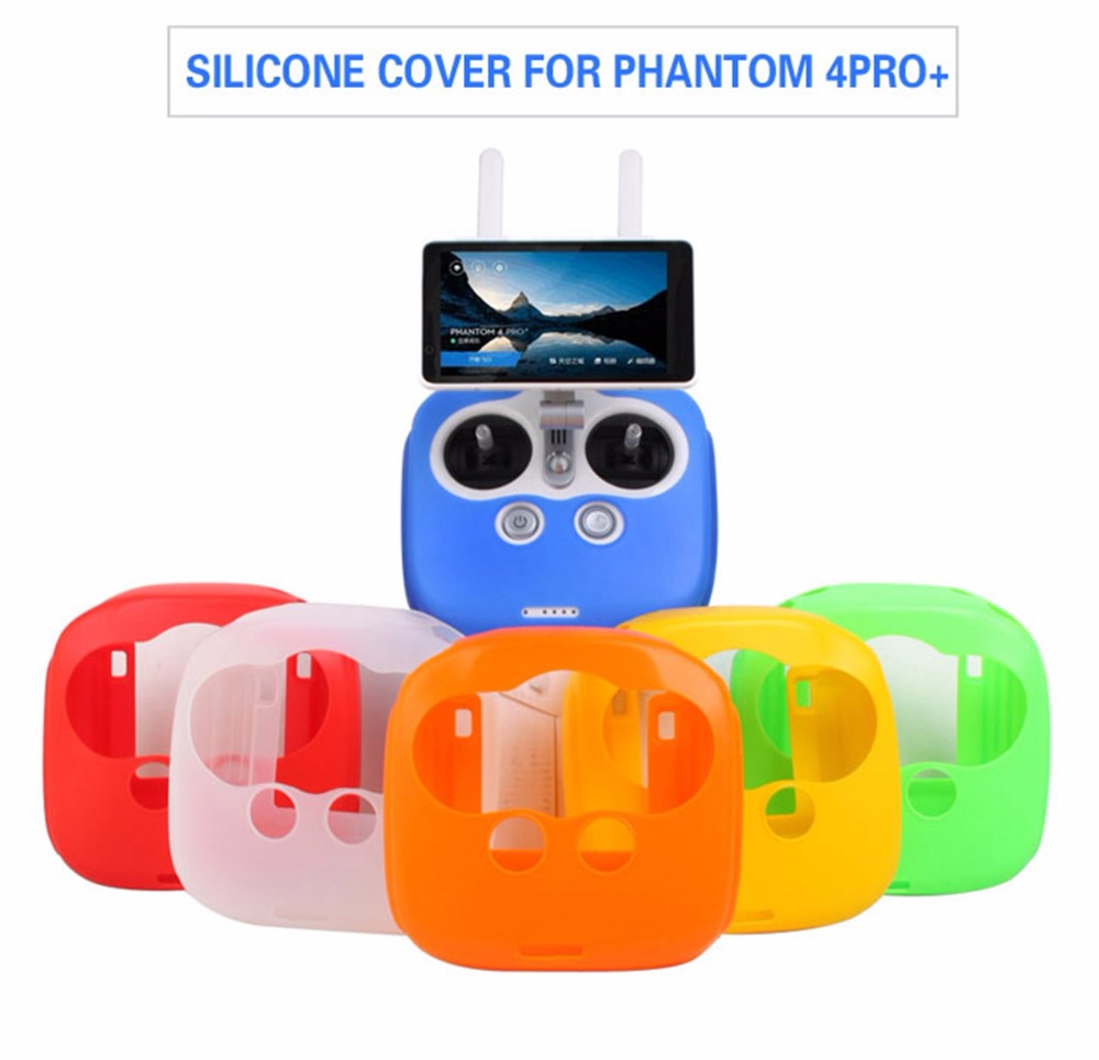 phantom 4 pro Remote Controller Silicone Case Cover skin for DJI phantom 4 pro+ Camera Drone Transmitter accessories Spare Parts khw 37601 арка садовая с ящиками для цветов white