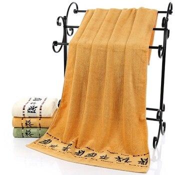 Toalla de baño Super suave de fibra de bambú para adultos hombres toalhas de banho grandes Toallas de playa de bambú strandlaken70 * 140cm