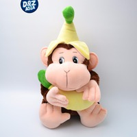 Cute Banana Monkey Plush Toy Monkey Doll Large Dolls New Year Gift Birthday Gift