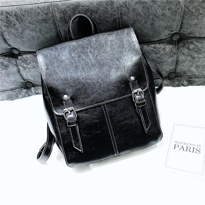 kunzite Fashion Women Backpacks Womens PU Leather Backpacks Female school Shoulder bags for teenage girls lady Travel Back pack