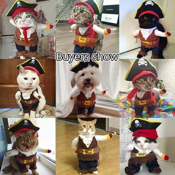 Grappige katten piraten kostuum 5