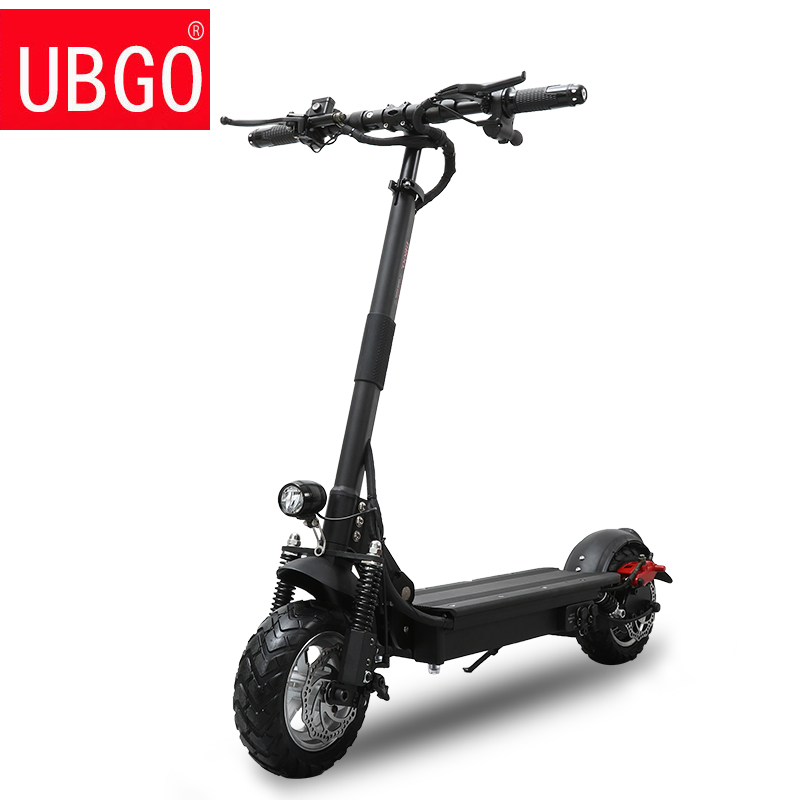 Powerful Electric Scooter 1000W 48V UBGO Foldable for adults 52V Folding Kick Scooter with seat Two Wheel Electric Scooters 2 wheels kick scooter 350w lithium battery electric scooter with seat max load 150kg for adults free shipping