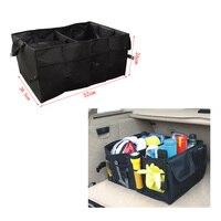 Dewtreetali High Quality Auto Supplies Car Back Folding Storage Box Multi Use Tools Organizer Car Portable