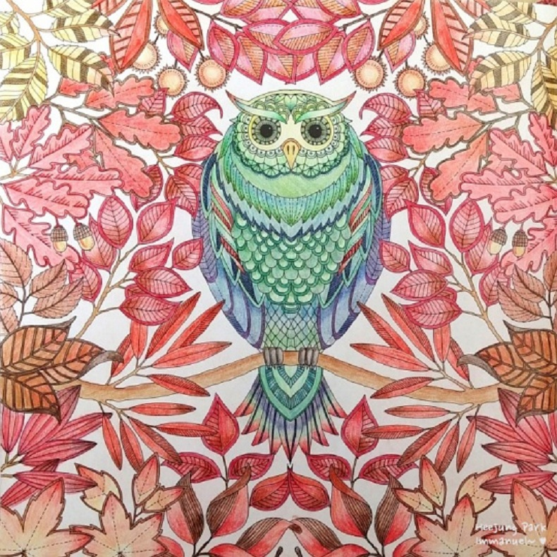 aliexpresscom buy secret garden an inky treasure hunt and coloring book adult children relax graffiti painting book color pencil diary book sk371 from - Painting Color Book