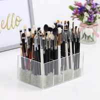 New 8 Slots Makeup Organizer Lipsticks Small Box Drawer Dresser Eyebrow Pencil Holder Lipsticks Stand