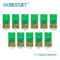 T6361 T6369 T636A T636B Patrone Chip Permanent Chip ARC Chip Für Epson 7700 9700 7890 9890 7900 WT7900 9900 (11 farben Optionen)-in Patrone Chip aus Computer und Büro bei