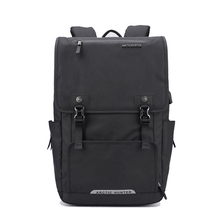 Мужской рюкзак wo мужской большой емкости Бизнес Компьютер школьная сумка рюкзак зарядка через usb путешествия Противоугонный рюкзак