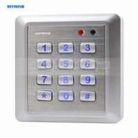 DIYSECUR NEUE Wasserdichte RFID Reader Access Control System Tastatur + 10 ID Karten Schlüssel Anhänger