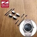 Enredo ligação Kit de Conversão para o homem de aço JF AP royal-carvalho 41mm assistir Conectar case Strap watch peças 15400 mudança em pulseira de couro