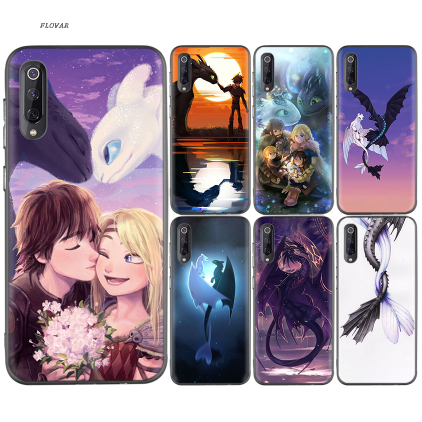 cool How to Train Your Dragon Soft TPU Case For Xiaomi Redmi K20 Y3 7A S2 6A Note 7 7S 6 5 Pro Xiomi 9T 8 A2 lite F1 Cover