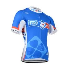 2016 New FDJ Men's Cycling Short sleeve jersey fietskleding wielrennen zomer heren set MTB Racing ropa ciclismo pro team Sport