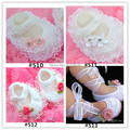 Fashion  Crochet baby girl  Handmade dress shoes costly lace pearl diamand Handmade Crochet Baby Shoes