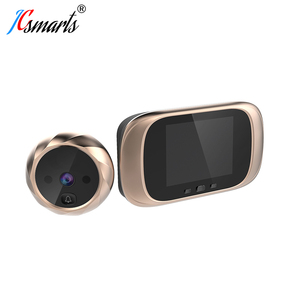 Image 2 - Smart Elektronische deurbel Kamera Video Guckloch Auf Tür Mirilla Digitale Puerta Tür Viewer Mit IR Leds