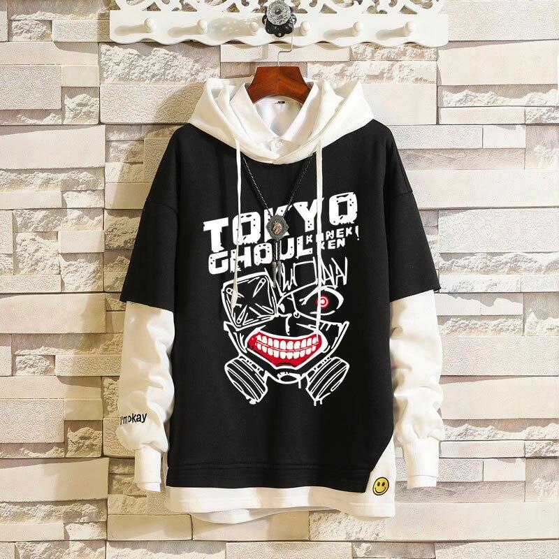 Men Women Hoodis Anime Tokyo Ghoul Pullover Hoodie Sweatshirt Sportswear Outerwear Cosplay Costume Coat Jacket Jumper Clothes