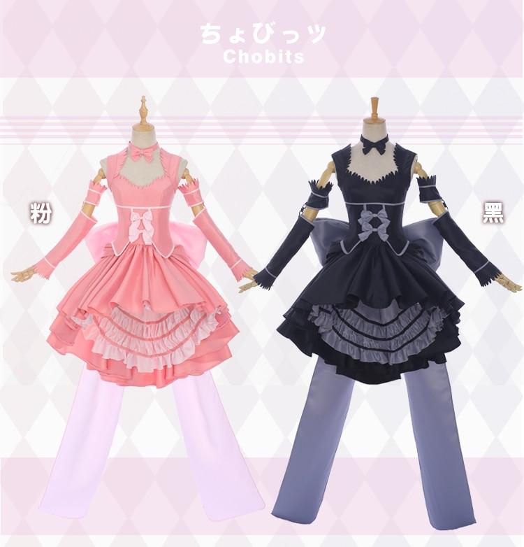 Anime Kantai Collection Amatsukaze Black Dress Female Cosplay Costume!Q22