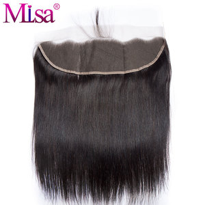 Image 4 - Mi Lisa 3 Bundles With Frontal Malaysian Straight Hair Weave Remy Human Hair Bundle and 13x4 Lace Frontal Closure with Bundles