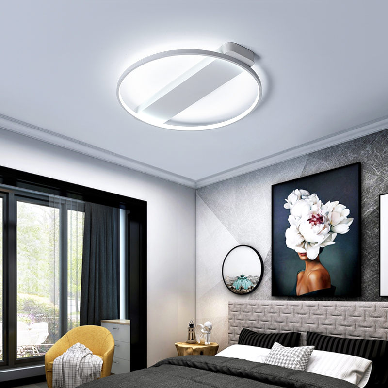 Brown/White Modern Ceiling Chandelier lampadario Lamp For Living Room Bedroom Avize LED Chandelier Lighting luminaria lustre