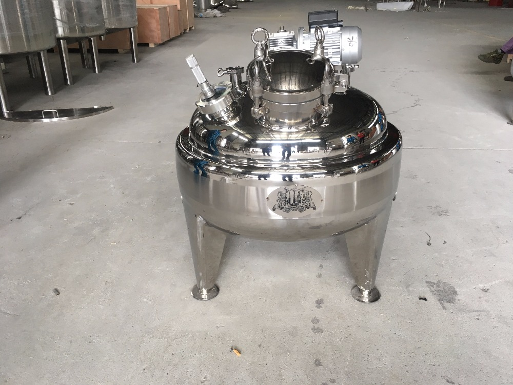 New type customized 100L single layer Boiler with thermoinsulation layer  , Distiller tank stainless steel  304. Shipping by DHL
