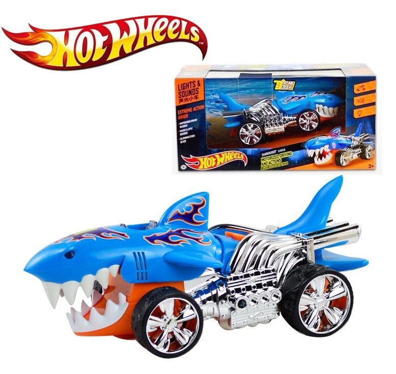 Hot Wheels Acousto Optic Electric Toy Car Deep Sea Shark