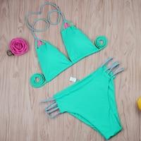 2018 Swimwear Women Bandage Bikini Set New Arrivals Bikini Push Up Bra Swimsuit Bathing Suit Brazilian