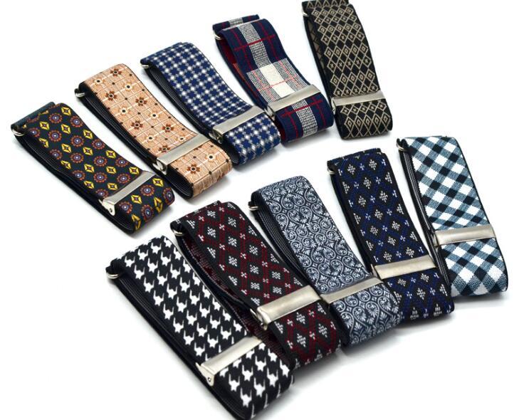 Men's Arm Warmers 1 Pair Gentleman Formal Shirt Armband Sleeve Garter Holder Business Party Cuff Fathers Day Gift Mouw Kousenband Men Puno 2.5cm