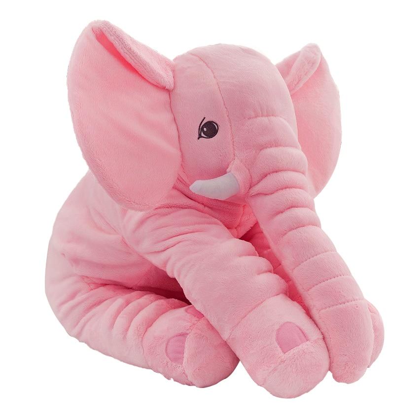 Elephant Stuffed Toy : Plush elephant