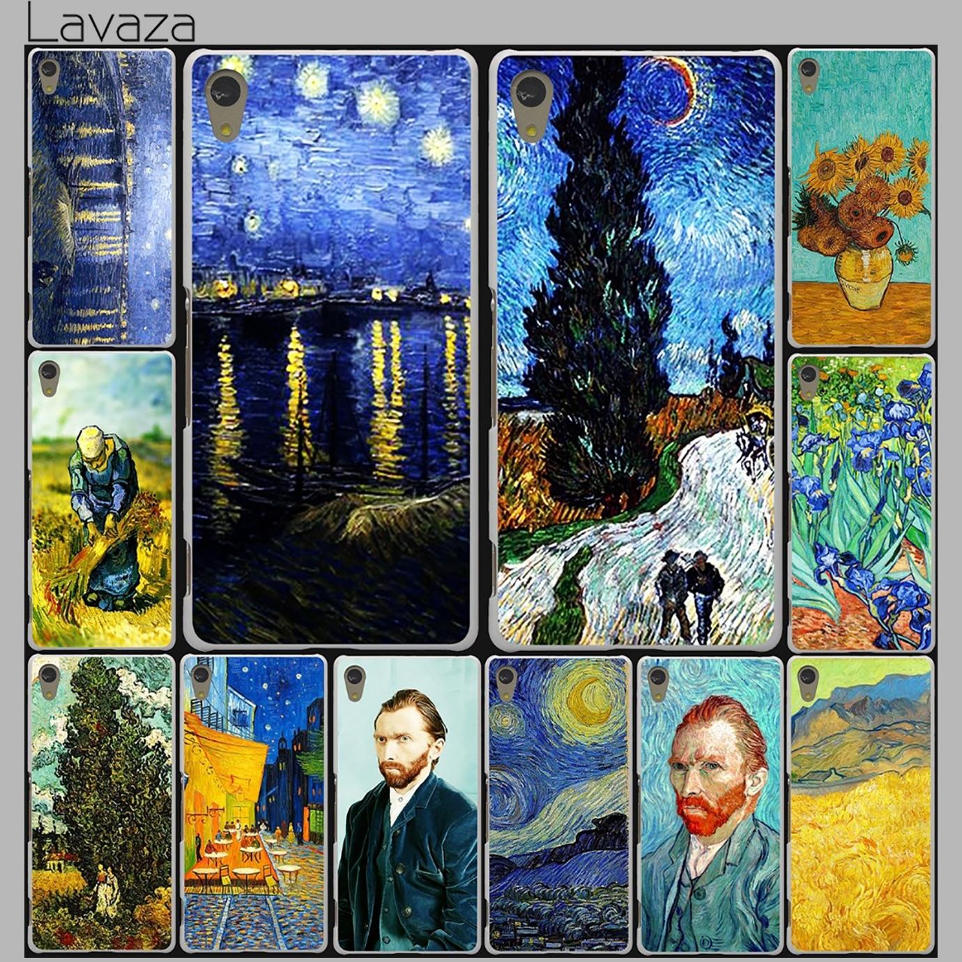 Lavaza Vincent Willem van Gogh Tardis Case for Lenovo Vibe K3 K4 K5 K6 Note A1000 A2010 S90 S850 S60 A536 A328 X3 Lite P1