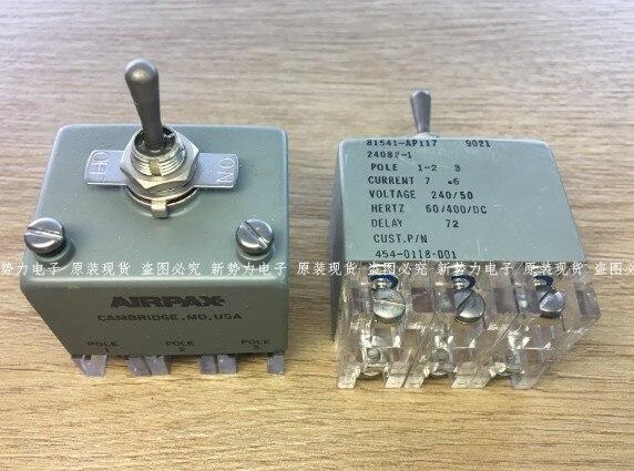 [YK] Оригинальный американский водостойкий 2 шестерни 81541 AP117 24088 1 6 ножной тумблер
