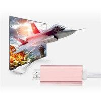 Creative 2 In 1 8 Pin 2M For IPAD IPhone6 6s 7 Plus To HDMI HD