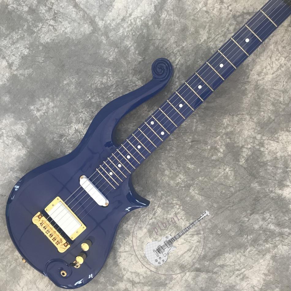 Livraison gratuite, vente chaude de nouvelle guitare électrique, corps et cou bleu clair, toutes les couleurs personnalisées