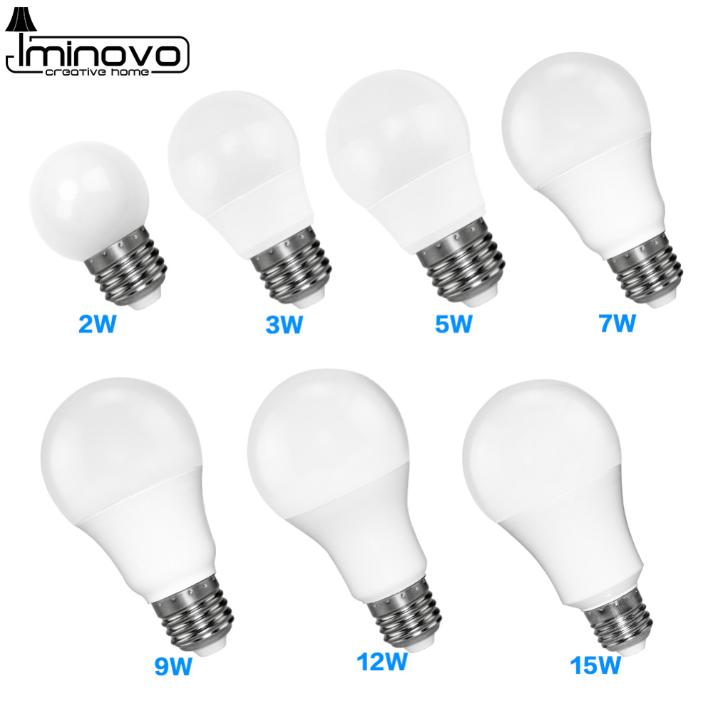 LED Bulb E27 E14 Bombillas Lamp Spotlight Light Lampada Diode cfl Ampoule SMD 2835 3W 9W 5W Energy Saving Home Decor 220V 110V enwye e14 led candle energy crystal lamp saving lamp light bulb home lighting decoration led lamp 5w 7w 220v 230v 240v smd2835