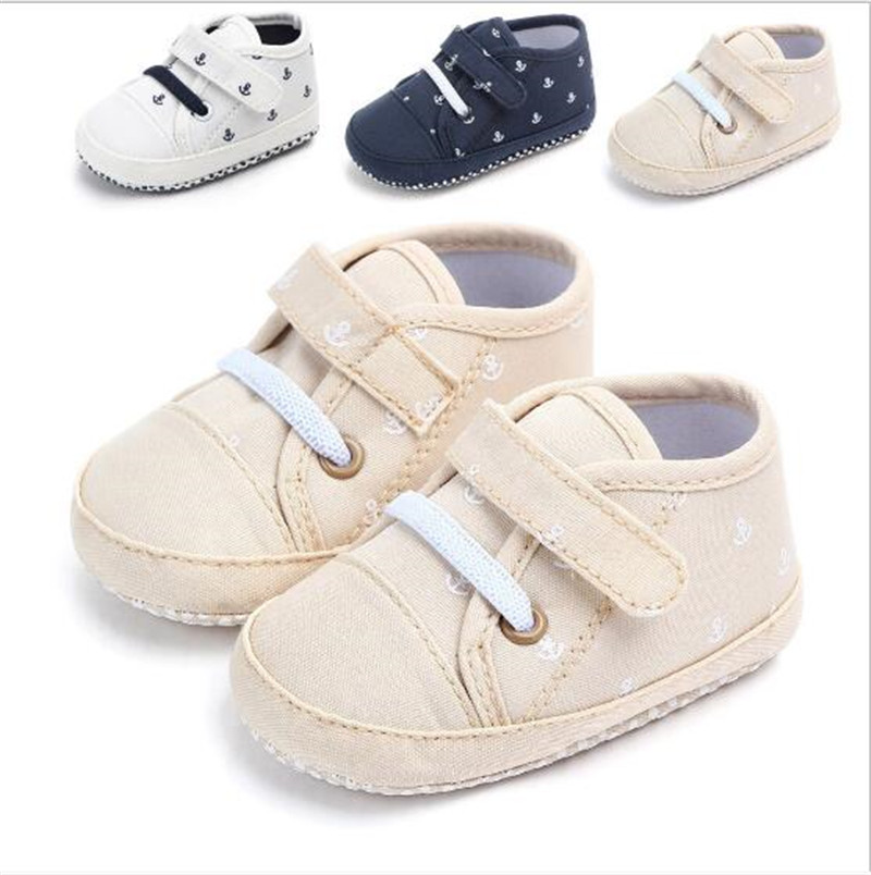 Fashion Cotton Baby Shoes Antislip Infants Casual First Walkers Toddlers Boys Sport Shoes