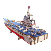 DIY Model toys 3D Wooden Puzzle Super ship Wooden Kits Puzzle Game Assembling Toys Gift for Kids Adult P61