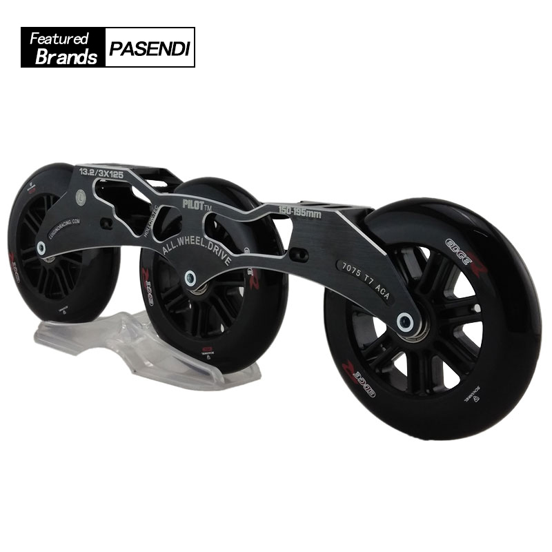 Patines Profession Inline Skates Roller Skates Frame High Quality Speed Skate Wheels 125mm for Men/Women Patins Roller Shoes cityrun inline speed skate frame 3 125mm 12 6 aluminum alloy 7075 for 3 wheels speed skating shoes basins free shipping bases