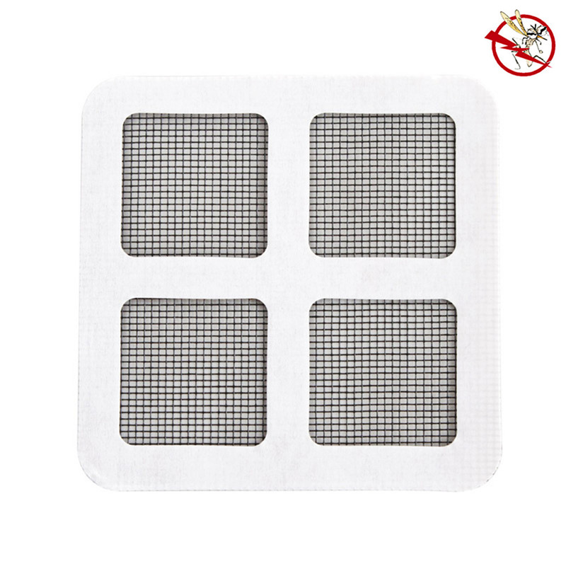 Black Insect Fly Bug Mosquito Door Window Net Netting Mesh Screen Sticky Tape