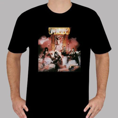 WASP W.A.S.P Metal Rock Band T-Shirt