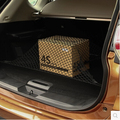 Стайлинга автомобилей Загрузки Авоську Задний Грузовой Магистральные Хранения Чистая для Toyota RAV4 Левин Crown FJ Cruiser Venza Avensis Previa сиенна