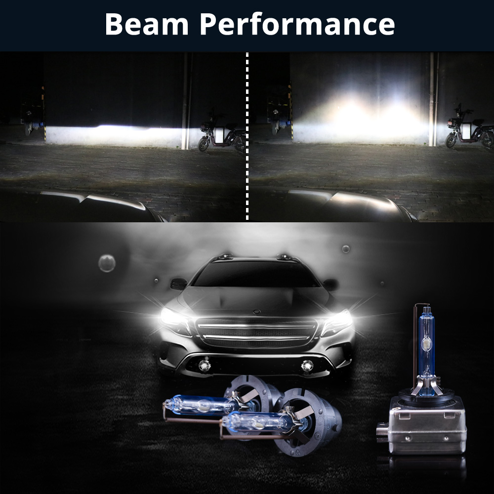 Pair D2R 12V 35W 4300K Light White Auto Car Xenon HID Headlight Lamp Bulbs
