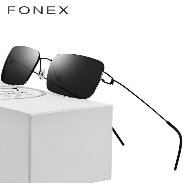 Sem parafusos de Óculos Homens óculos de Sol Quadrados Dinamarca Ultraleve  2018 Mulheres Famosa Marca Designer 8c871f1191