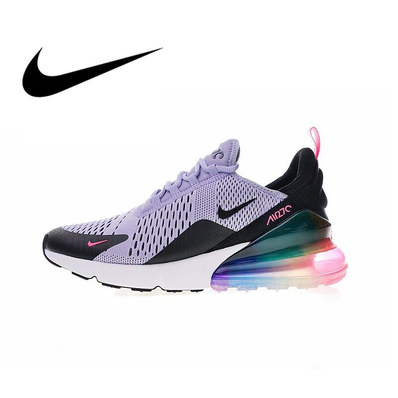 Nike Air Max 270 serte fiel de las mujeres Zapatos de deporte Zapatillas de deporte calzado deportivo de buena calidad nueva llegada AR0344-500