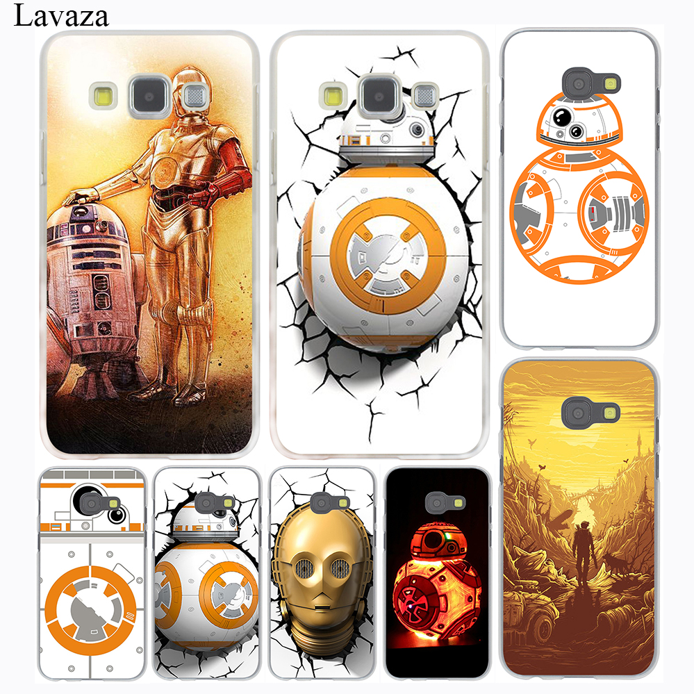 Droid Robot Star Wars Pattern Hard Case Cover for Galaxy A3 A5 J5 (2016/2017) J3 J5 Prime J7 & Note 5 4 3 Grand 2 Prime