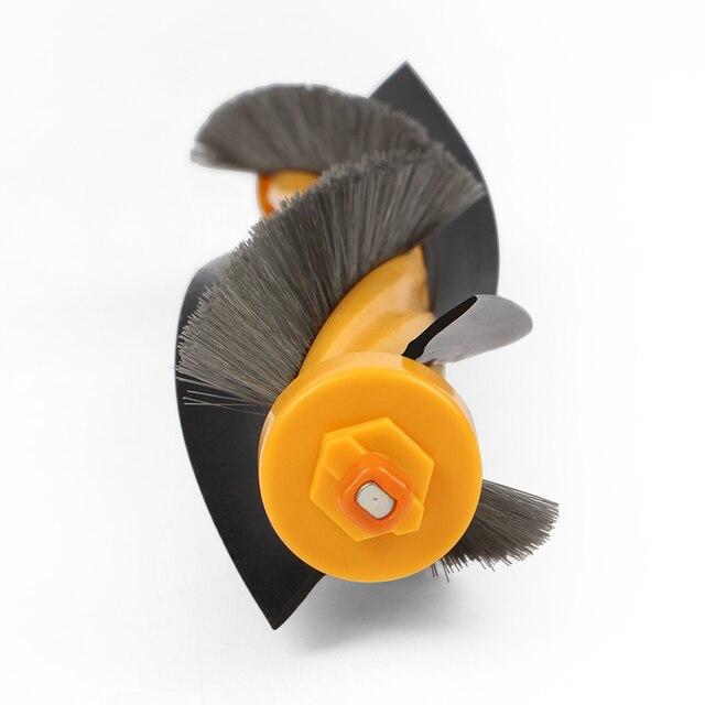 Odkurzacz akcesoria zestaw dla Ecovacs Deebot DT85/DT83/DM81/DM85 szczotka rolkowa * 1 sztuk + szczotka boczna * 6 sztuk + + filtr HEPA * 3 sztuk