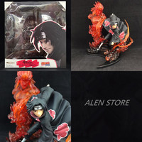 22cm Japanese anime figure Naruto Uchiha Itachi action figure collectible model toys for boys