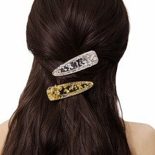 acrylic hair clips jewelry alligator accessories for women hairclip barette cheveux femme