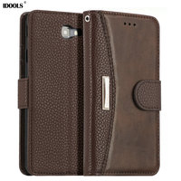Case For Samsung Galaxy J7 Prime Dirt Resistant 5 5 Inch Wallet Flip Leather Cover Phone