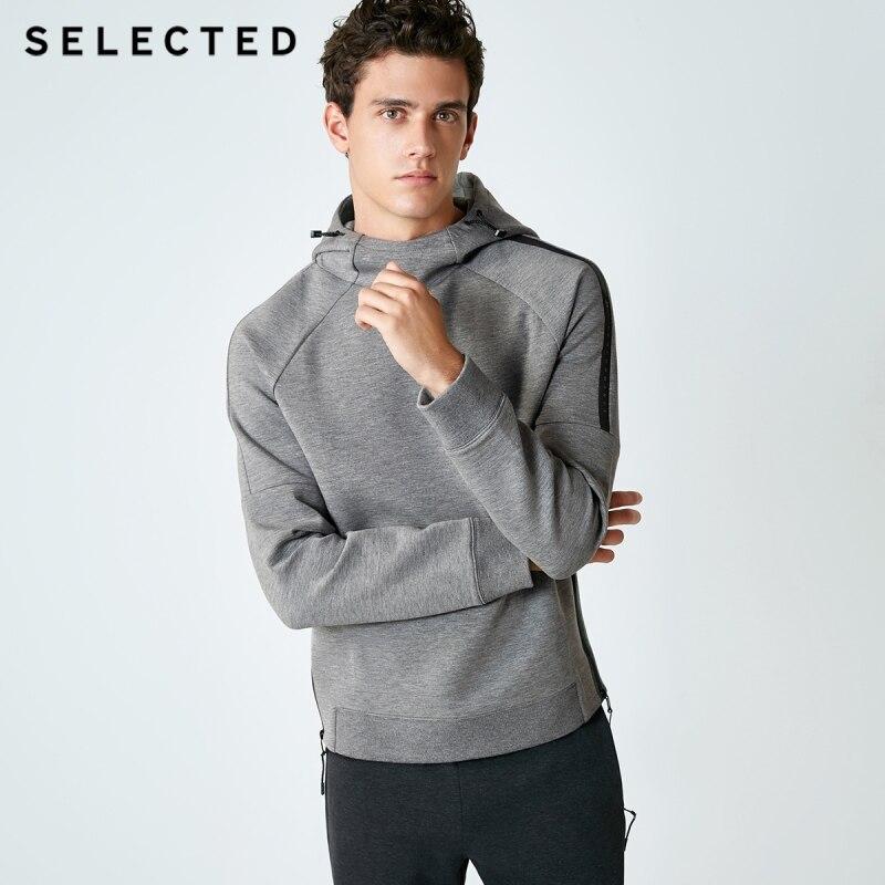 اختيار الرجال طفيف تمتد فضفاض صالح هوديي SP  418333532-في قمصان وسترات بقلنسوة من ملابس الرجال على  مجموعة 1