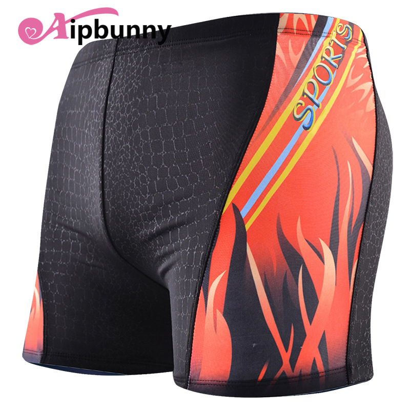 Aipbunny Mens Board Shorts Boxer Sungas Praia Trunks Pants Sexy Hot Swimwear Bath Printed Boys Swimming Trunks Surf Swimsuits