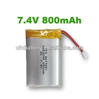 Solar Battery LP653048 3.7v 800mah li poli bateries Packs for Gps Personal Ttracker