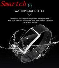 Smartch N108 Smart пульсометр крови кислородом Давление часы с фитнес-трекер умный Браслет для Android IO
